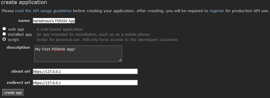 Quickstart - PSRAW - PowerShell Reddit API Wrapper Module